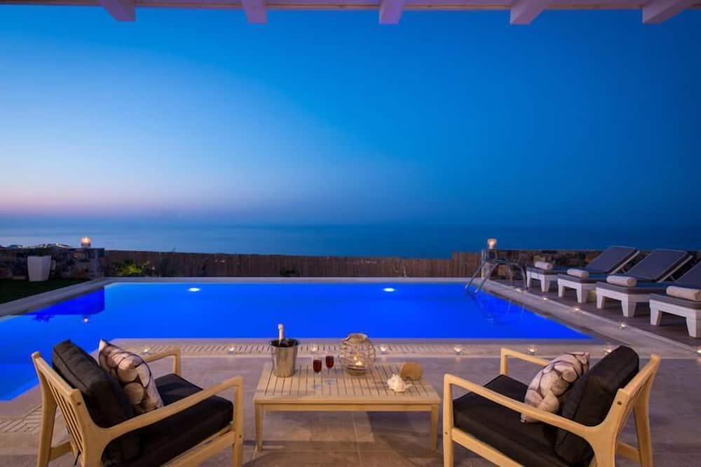 Villa, Sea View - Private pool