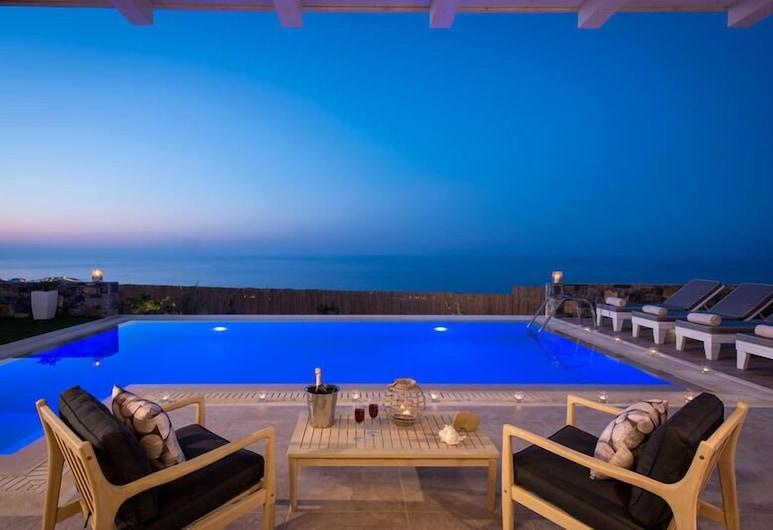 Villas Crete , Hersonissos, Vila, výhľad na more, Súkromný bazén