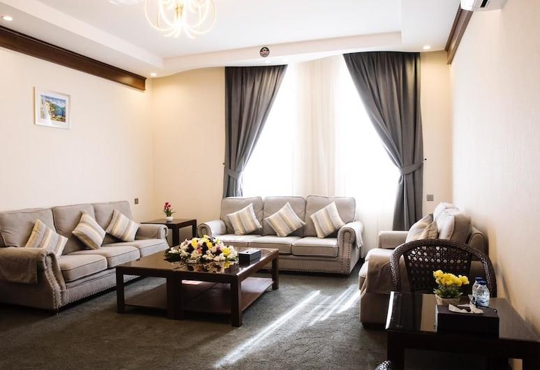 Aral Hotel, Ταμπούκ, Σουίτα, 1 Υπνοδωμάτιο, Περιοχή καθιστικού