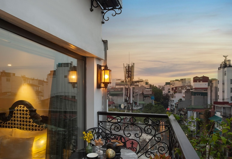 Hanoi Esplendor Hotel and Spa, Hanoi, Honeymoon-Doppelzimmer, 1 King-Bett, Balkon (Esplendor), Zimmer