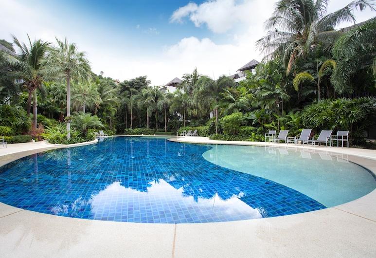 班陶海灘花園酒店 - 布吉出租, Choeng Thale, 室外泳池
