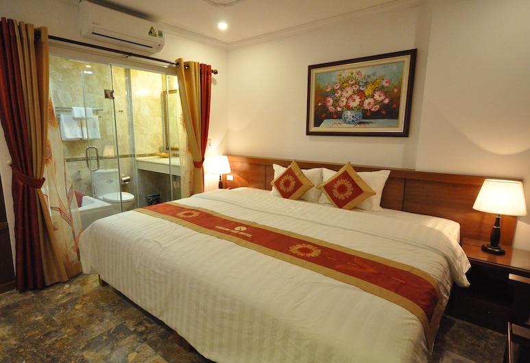 Saigon Sun 1 Hotel, האנוי, חדר זוגי או טווין (Suite), חדר אורחים