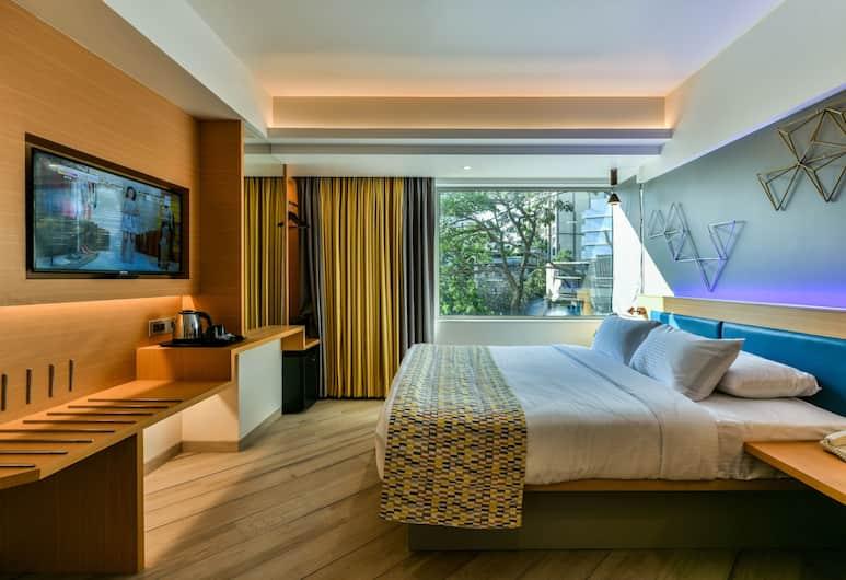 Indie Stays, Mumbai, Comfort-Doppelzimmer, 1 Queen-Bett, Stadtblick, Ausblick vom Zimmer