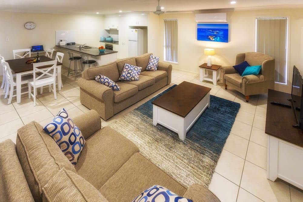 Deluxe Ev, 4 Yatak Odası - Oturma Alanı