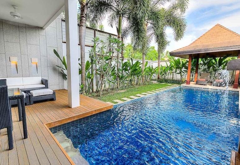 氧氣游泳池別墅 - 普吉出租飯店, 拉威, 3 Bedrooms Villa with Private Pool , 私人游泳池