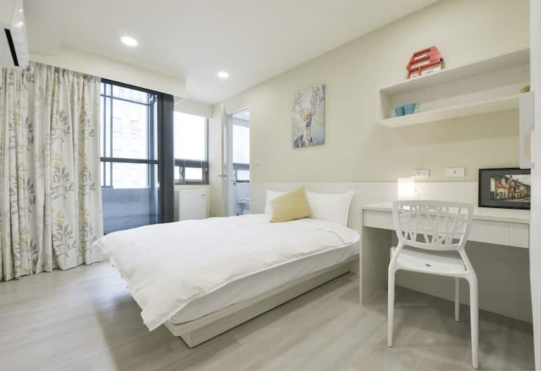 一中巷寓, 台中市, 奢華雙人房, 1 張標準雙人床, 客房