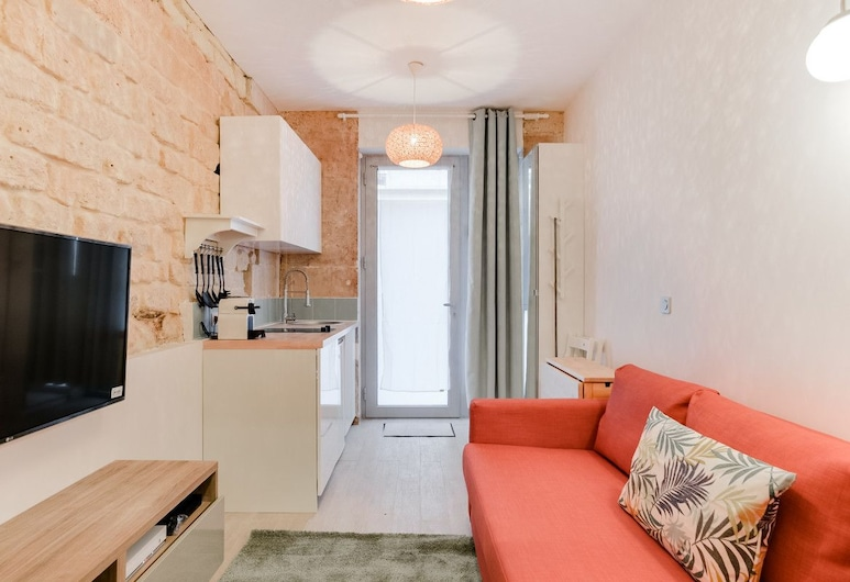 Lovely Studio, Near Le Moulin Rouge and Montmartre, Paris, Apartment (0 Bedroom), Living Area