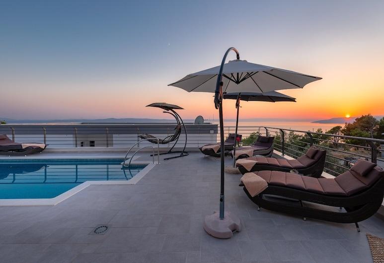 Villa Narona, Makarska, Terrasse/veranda