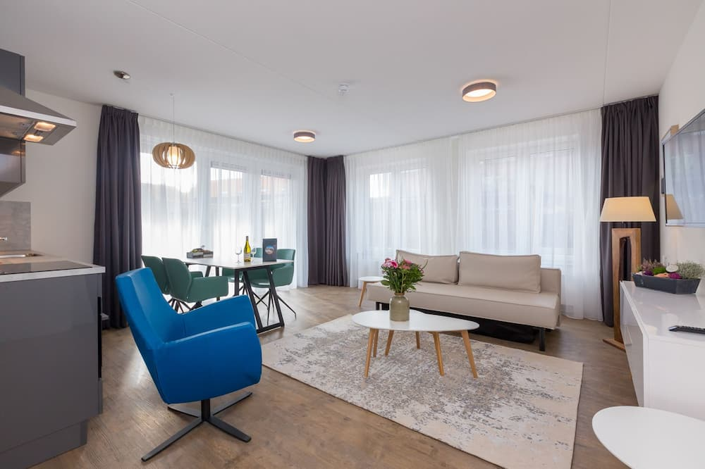 Apartemen Mewah, 3 kamar tidur - Area Keluarga