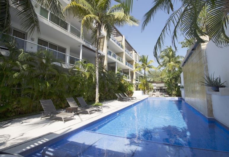 Downtown Apartment Oasis 12, Playa del Carmen, Pool