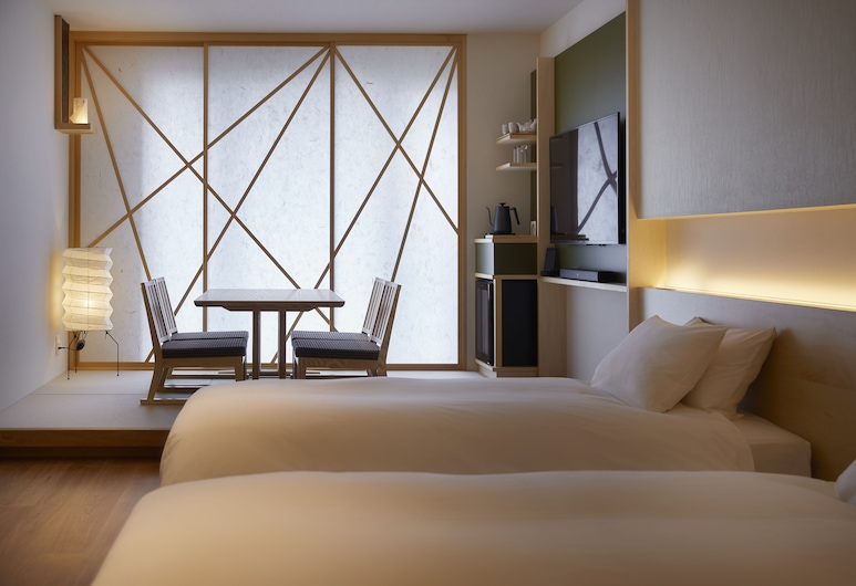 Agora Kanazawa, קאנאזאווה, חדר קלאסי טווין (Modern Japanese-Style), חדר אורחים