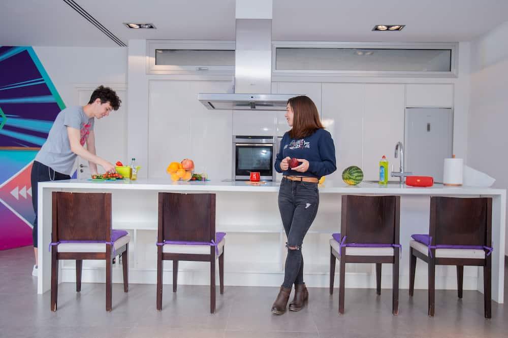 חדר מעונות משותף סטנדרט, חדר מעונות מעורב (גברים ונשים) - מטבח משותף