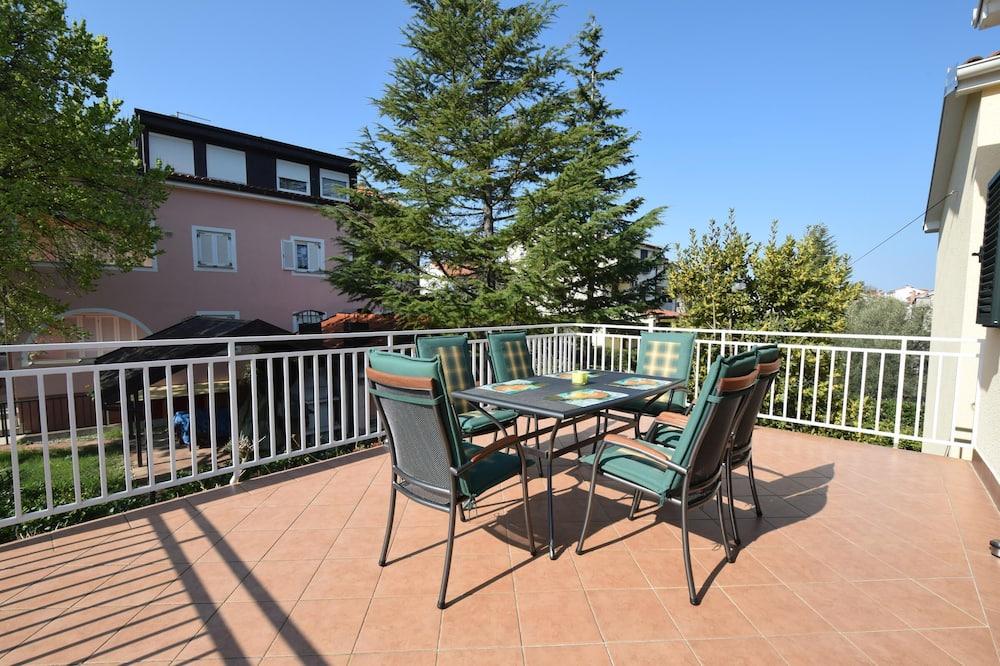 Apartamentai, 2 miegamieji (774) - Balkonas