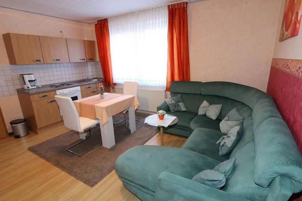 Appart'hôtel Confort, plusieurs lits, vue canal - Coin séjour