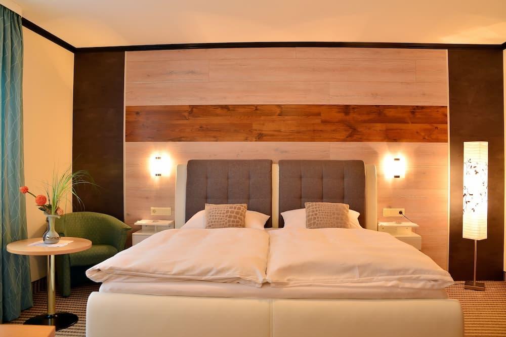 Habitación Confort con 1 cama doble o 2 individuales, 1 cama de matrimonio grande, vistas al canal - Habitación