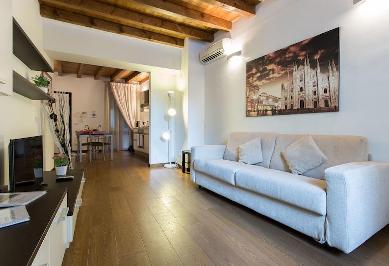 Charming Milan Apartments Brera-Madonnina, Milano, Apart Daire, 1 Büyük (Queen) Boy Yatak ve Çekyat, Teras, Oda