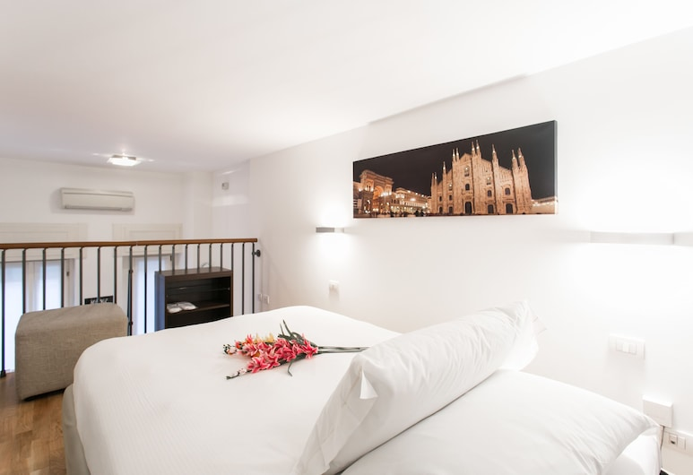 Charming De Togni Apartment, Milaan, Studio, Kamer