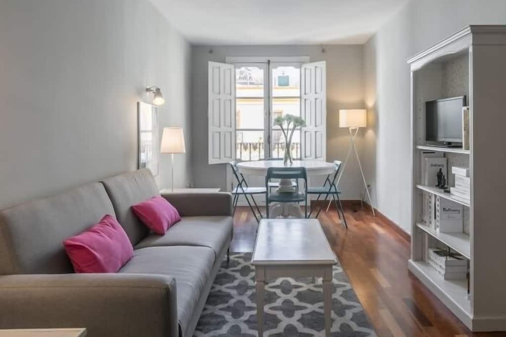 Apartman, 1 spavaća soba (Activa Vidrio 16) - Dnevna soba