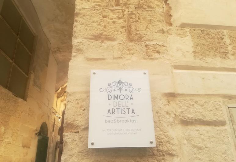 Dimora dell'Artista 2, Lecce, Hotelfassade