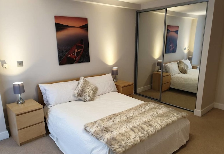 Birmingham's Hidden Gem Diamond Apartment, Sleeps, Birmingham, Apartment, 1 Queen Bed with Sofa bed, Room