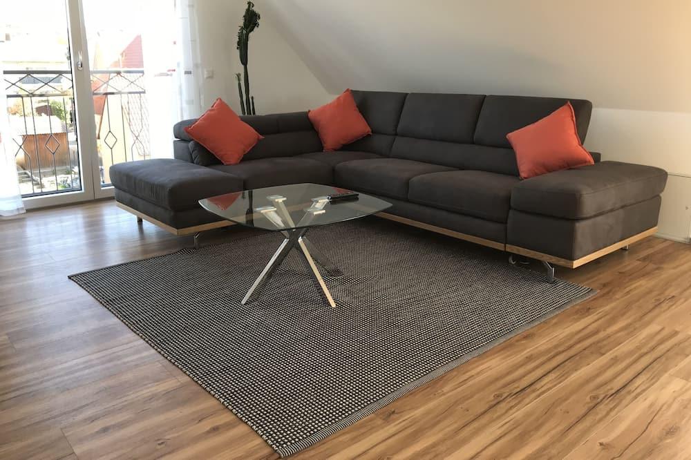 Design-Apartment - Wohnzimmer