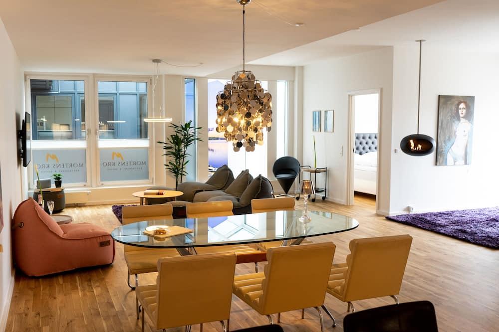 Suite Grand, 2 habitaciones, vista a la ciudad - Sala de estar