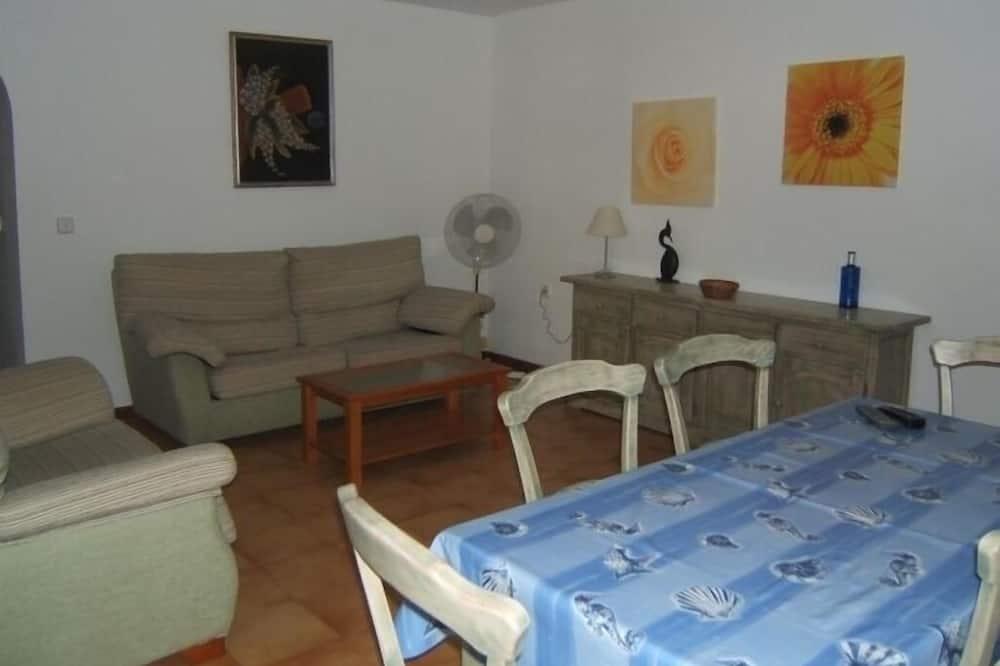 Apartman, 1 spavaća soba, pogled na ocean - Dnevna soba