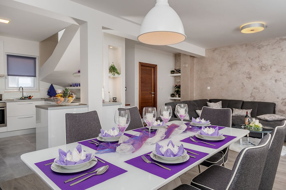 Deluxe-Villa, Meerblick - Wohnbereich