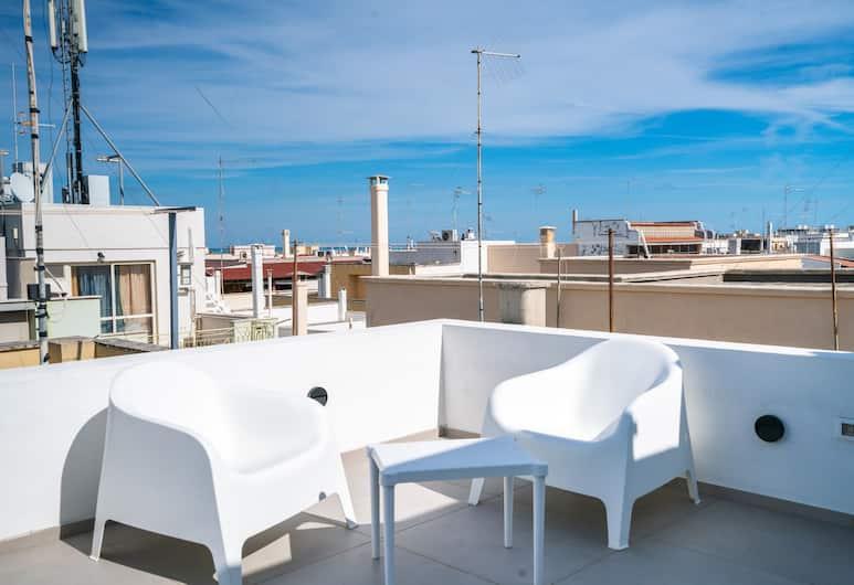 Three Hearts Suites, Polignano a Mare, Superior-værelse - terrasse, Terrasse/patio