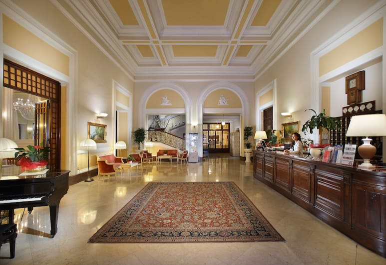 Grand Hotel Plaza e Locanda Maggiore, Montecatini Terme, Reception