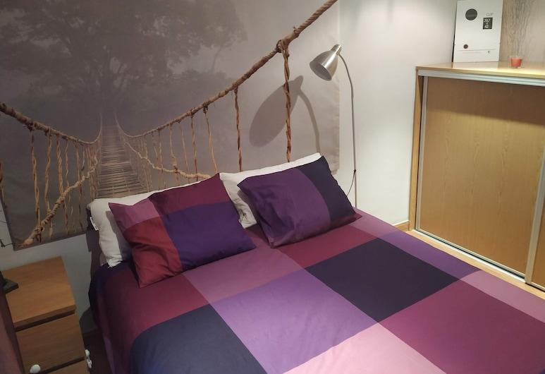 Apartamentos Deluxe Barajas, Madrid, Deluxe-Apartment, 1 Schlafzimmer, Zimmer