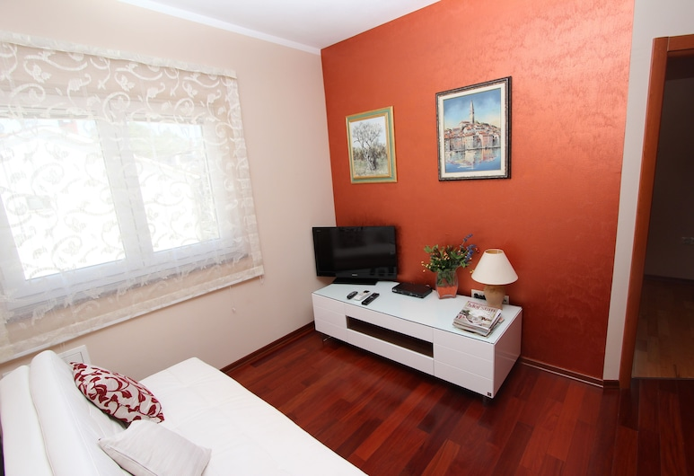 Apartment Gaga, Rovinj, อพาร์ทเมนท์, 1 ห้องนอน, ระเบียง, พื้นที่นั่งเล่น