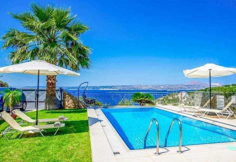 Villa Minoas, Apokoronas, Biệt thự, 3 phòng ngủ, Hồ bơi riêng, Quang cảnh biển, Hồ bơi riêng