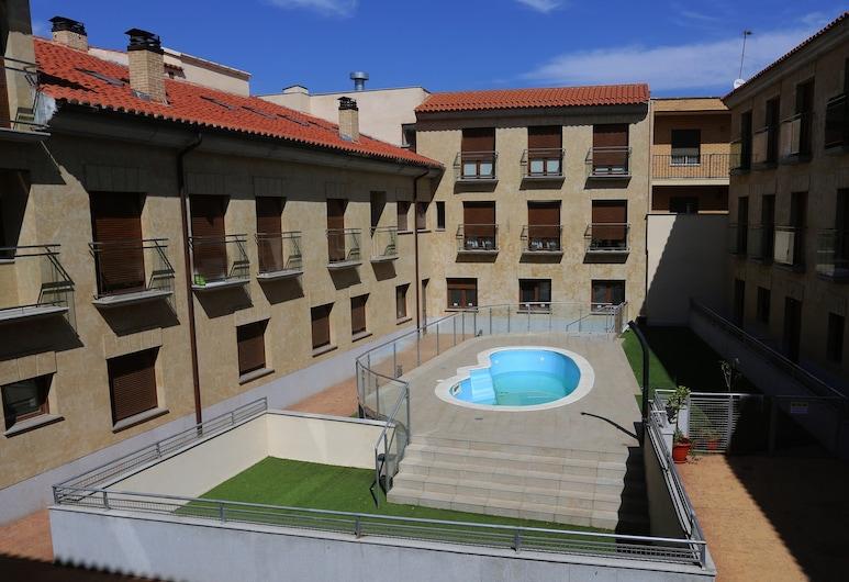 Apartamento Turistico Puente Romano P4 Bajo C, Salamanca, Hồ bơi