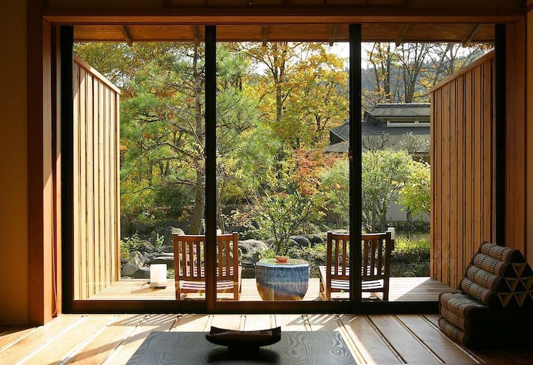 Ryokan Togattaonsen Bettei Yamabuki, Zao, Balcony