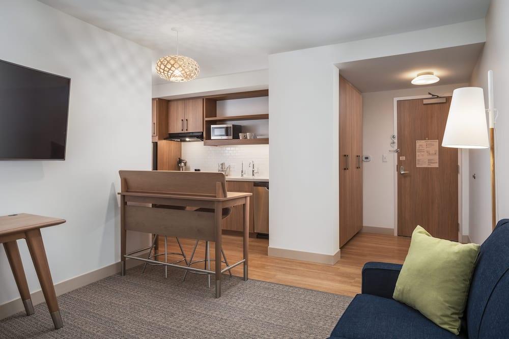 行政套房, 1 張特大雙人床, 非吸煙房 - 客廳