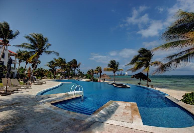 Condo 121 at Caribbean Reef Villas - One Bedroom Apartment, Puerto Morelos, Ulkouima-allas
