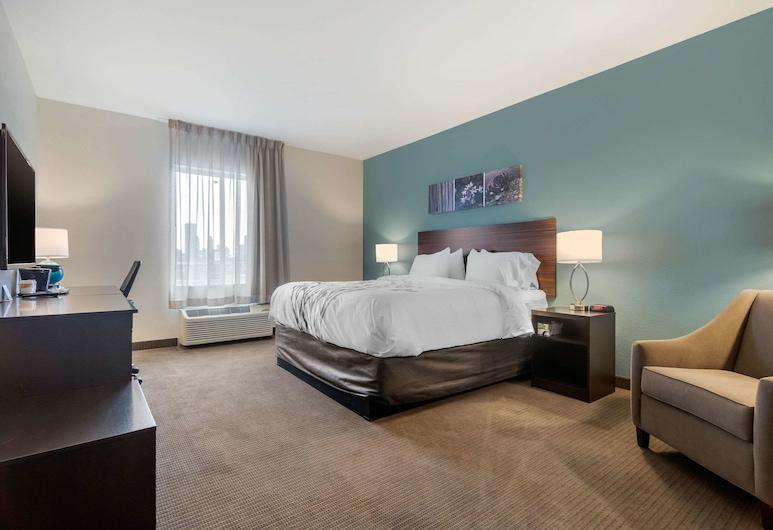 Sleep Inn & Suites Bricktown - near Medical Center, Oklahoma City, Quarto Standard, 2 camas queen-size, Não-fumadores, Quarto