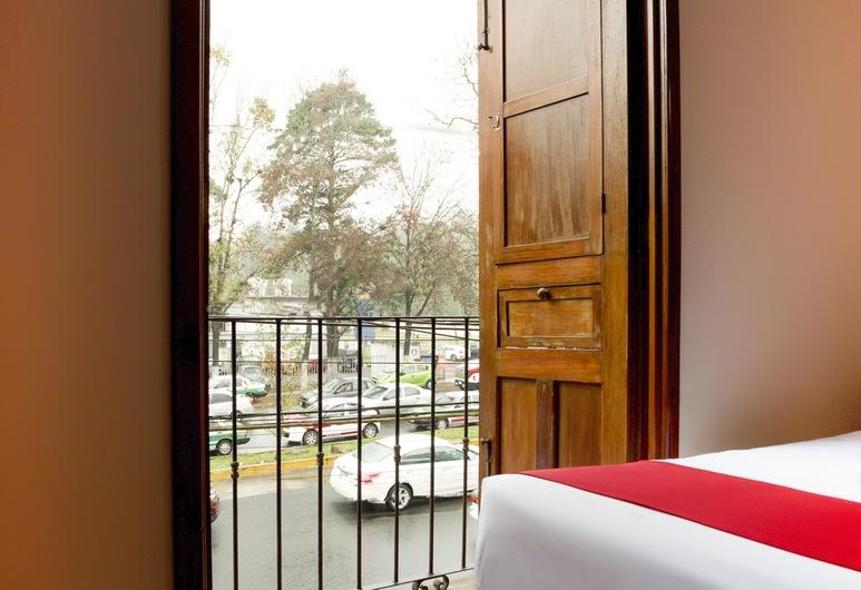 OYO Hotel Museo, Xalapa, Habitación estándar, 2 camas dobles, vista a la ciudad, Vista de la habitación