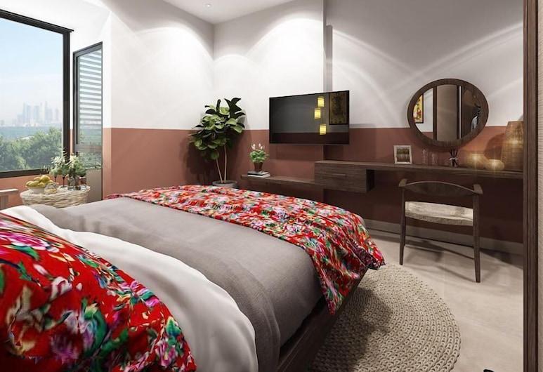Easy Easy Homestay, Ho Chi Minh City, Design dubbelrum, Rum
