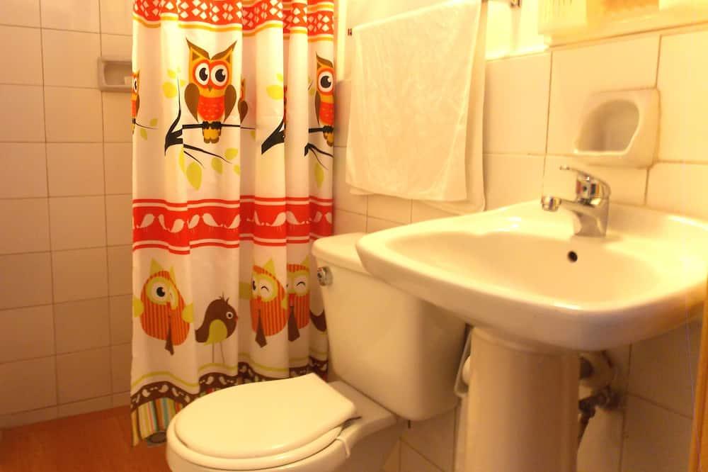 패밀리 더블룸 또는 트윈룸 - 욕실