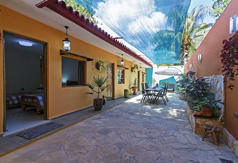 Casa Tres Soles, Trinidadas, Terasa / vidinis kiemas