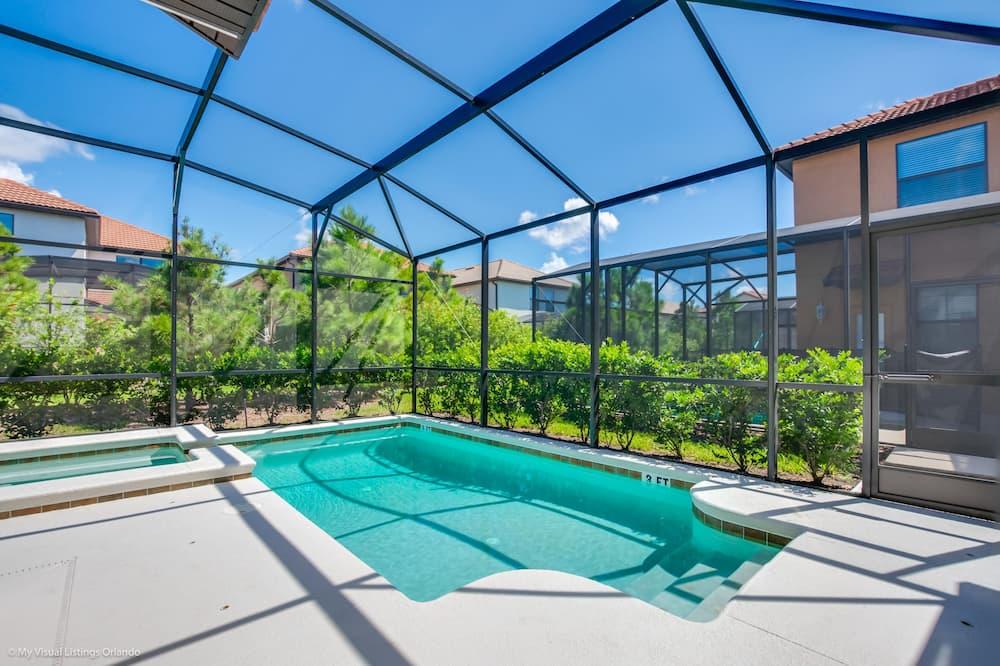 Villa, 5 slaapkamers - Binnenzwembad