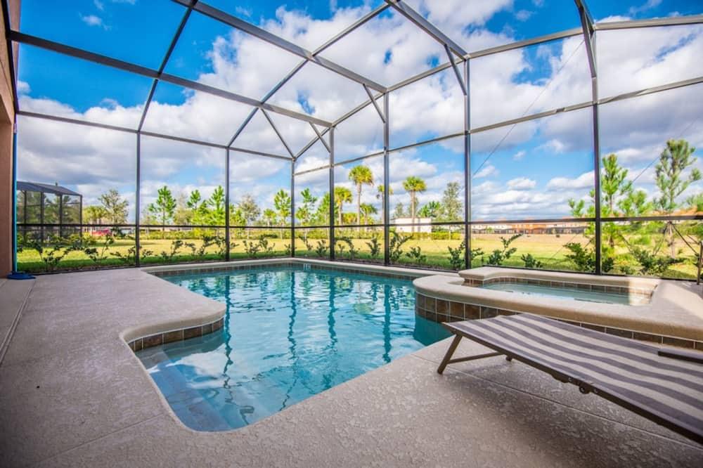 獨棟房屋, 6 間臥室 - 室內游泳池