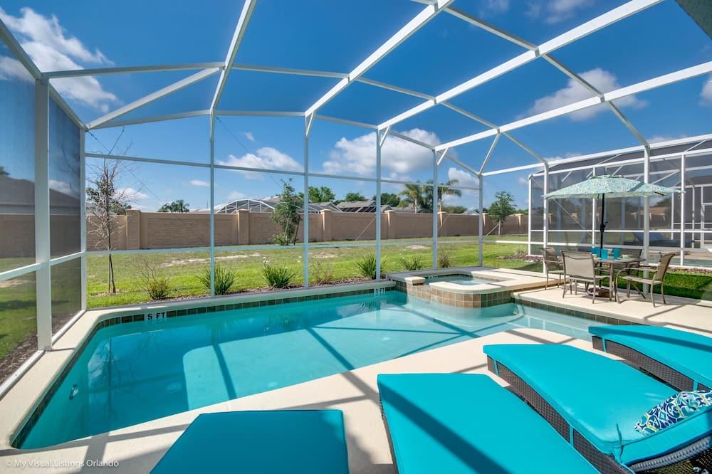 Huis, 6 slaapkamers - Binnenzwembad
