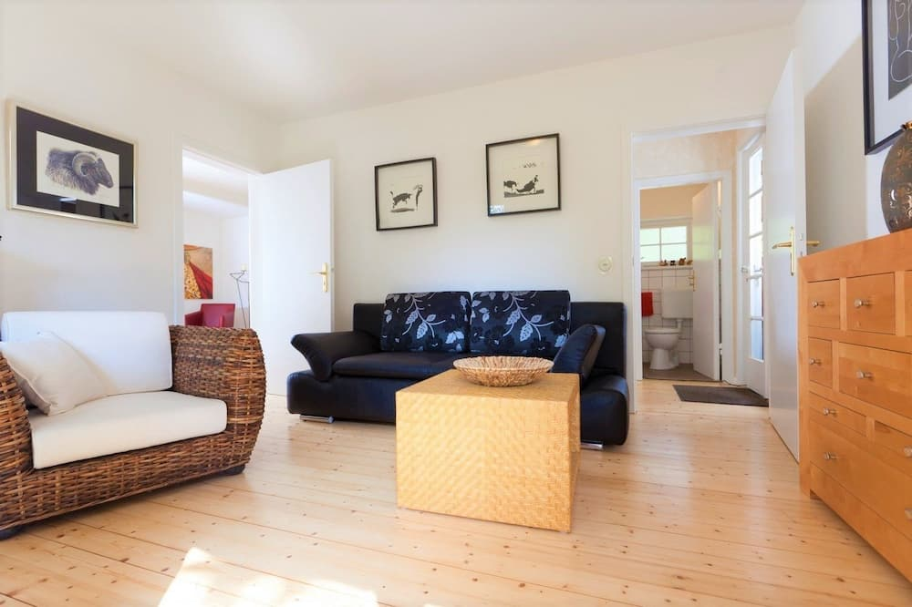 House (Fontane incl. 50 EUR cleaning fee) - Living Area
