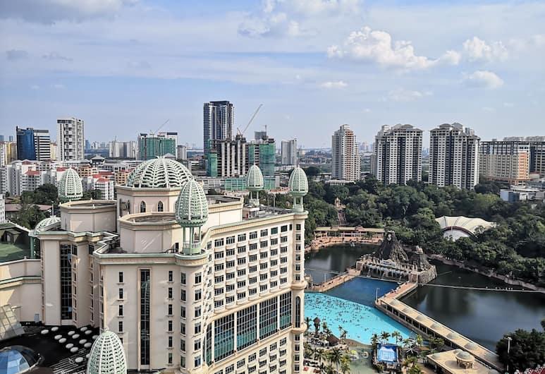 Sunway Resort Suite by Wonderpoly, Petaling Jaya, Darījumklases dzīvokļnumurs, Skats no numura