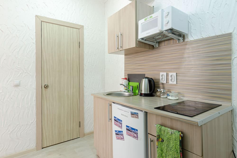 Luxury Apartment, 1 Double Bed with Sofa bed - Mini Refrigerator