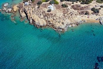 Bild vom Glaronissi Beach in Naxos