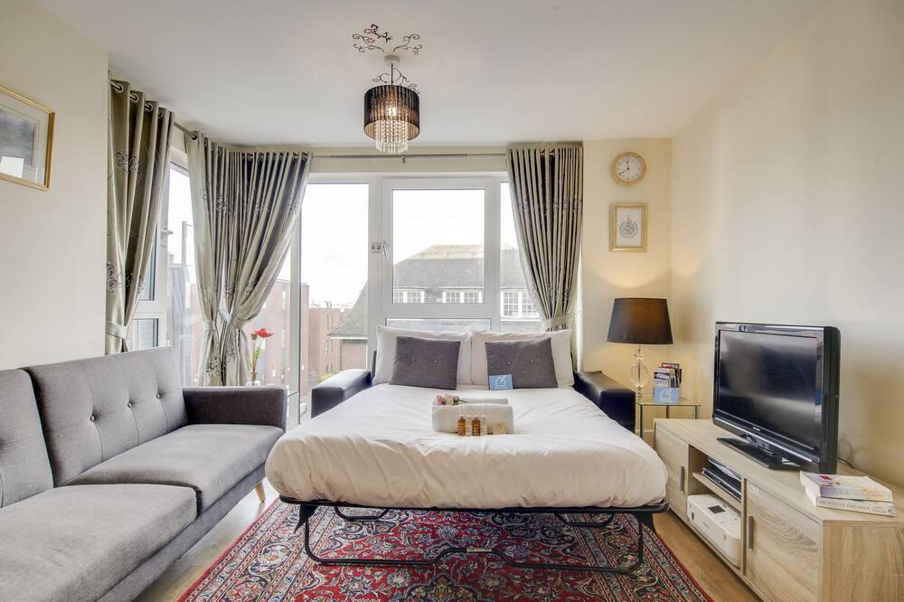 Deluxe-lejlighed (1 Bedroom) - Opholdsområde